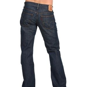 Levi 559 Men's Blue Jeans Used Relaxed Straight